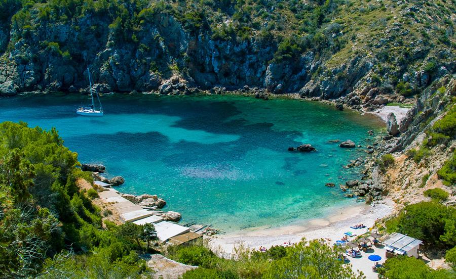 Cala d' en Serra beach, Ibiza